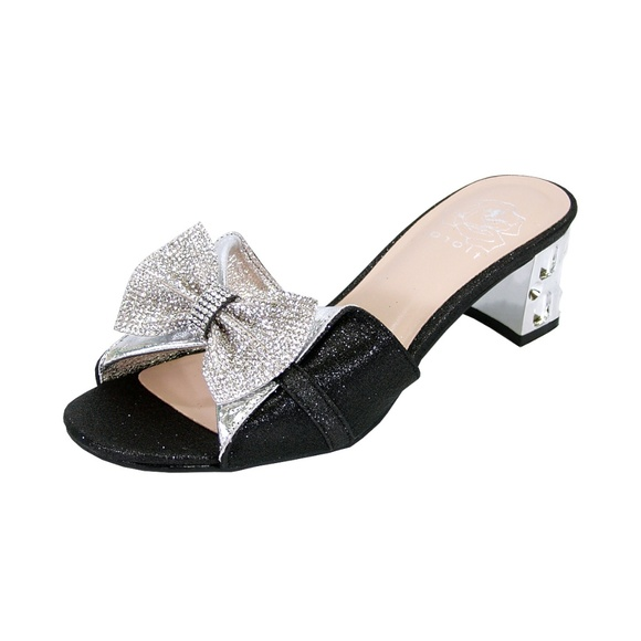 pretty cheap many styles online here FLORAL Shoes | Farrah Women Wide Width Bling Sandals | Poshmark